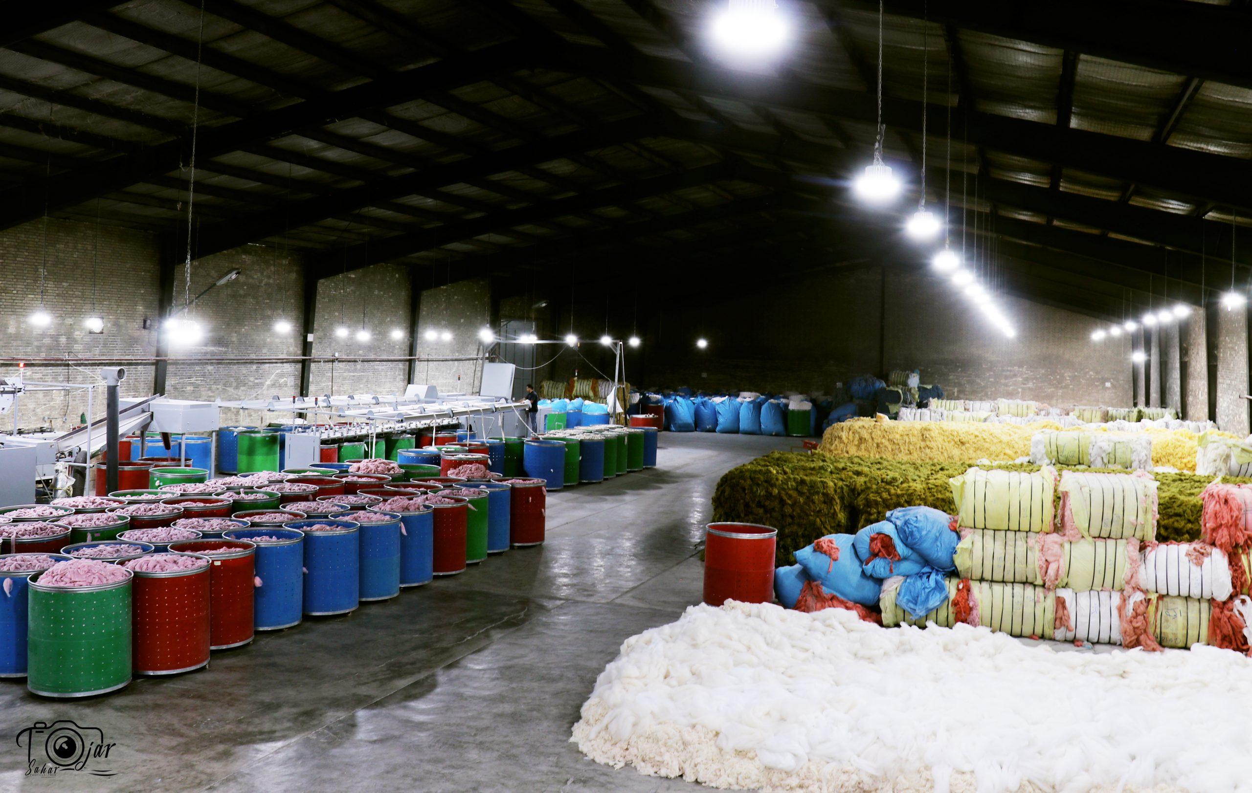 تولیدکننده انواع نخ های اکریلیک فرش ماشینی